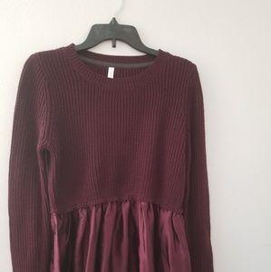 Knit blouse